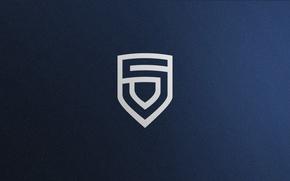 Picture Logo, Game, Team, Minimalism, CSGO, Counter-Strike: Global Offensive, CS:GO, vent designs, Esports, Penta