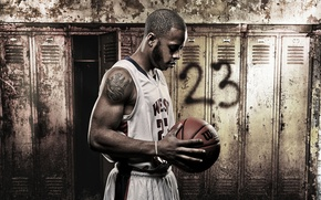Picture sport, Terrance Hall, basketball
