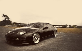 Picture Nissan, black, 300zx, fairlady, ccw
