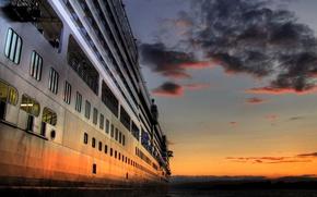 Wallpaper Sunset, Islands, Cruise