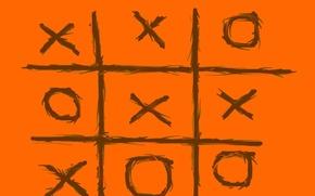 Picture orange, TIC TAC toe