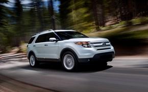 Picture ford, Auto, explorer, trassa, the
