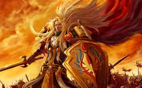 Picture army, light, warriors, wow, paladin, world of warcraft, paladin, The blood elves, Blood elf