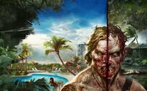 Picture Zombie, Art, Game, Dead Island Definitive Edition