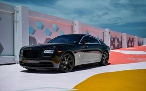 Picture Rolls-Royce, Black, Wraith