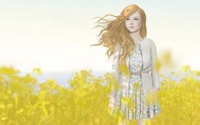 Picture figure, art, girl