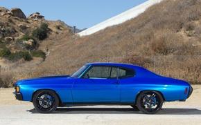 Picture auto, Chevrolet, muscle car, Chevelle, 1972