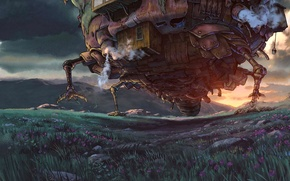 Picture howl, howl's moving castle, Miyazaki