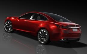 Picture Red, Auto, concept, Mazda