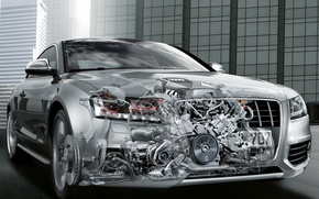 Wallpaper auto, engine, Audi, car, machine