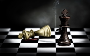 Picture shot, chess, figure