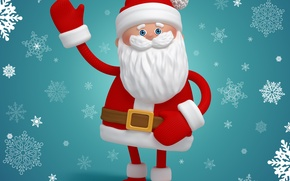 Picture snowflakes, new year, Christmas, christmas, new year, Santa Claus, Santa, winter, snow, santa claus, santa