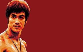 Picture red, memory, figure, master, legend, Bruce Lee, bruce lee