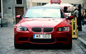 Picture red, BMW, Poland, Warsaw, BMW, E92, Russia, RED, Warsaw
