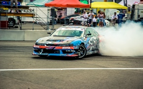 Picture tuning, smoke, Silvia, Drift