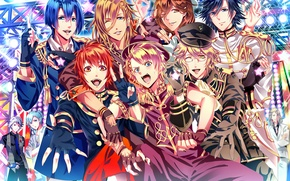 Picture smile, Uta No prince-sama, guys. spotlights