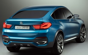 Picture auto, Concept, BMW, the concept, back