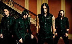 Picture rock, Matthew so, Michael Thomas, Jason James, melodic metalcore, bullet for my sweetheart, bullet for …