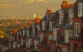 Picture street, England, London, home, panorama, Muswell Hill