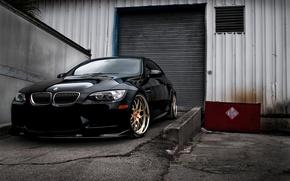 Picture machine, BMW, Cars, Black, auto wallpapers, E92