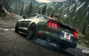 Picture Mustang, Ford, Need for Speed, nfs, 2013, Rivals, 2015, NFSR, NSF