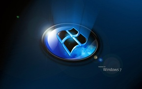 Picture computer, Wallpaper, logo, windows 7, emblem, the volume, operating system