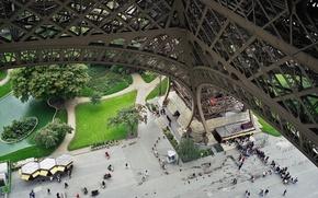 Picture Park, people, Paris, France, the Eiffel tower