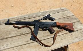 Picture gun, weapons, machine, P08, assault rifle, Luger, Luger, Assault rifle 44, StG 44