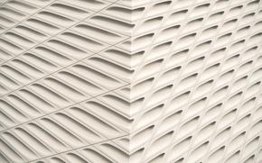 Picture design, stripes, lines, corner, holes
