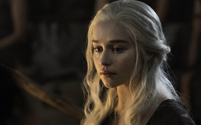 Picture Game of Thrones, Game of thrones, Emilia Clarke, Emilia Clarke, HBO, Season 6