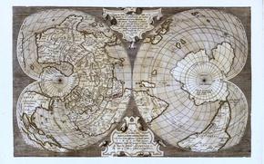 Picture map, monde salamanca, the equator
