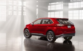 Picture Concept, Ford, Side, Edge, View