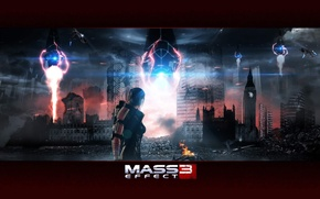 Picture London, mass effect, Shepard, the reapers