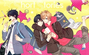 Picture anime, art, guys, Brothers Conflict