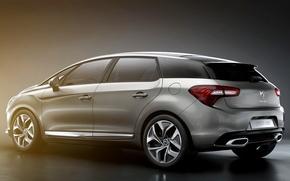 Picture Citroen, hybrid, DS5, new car