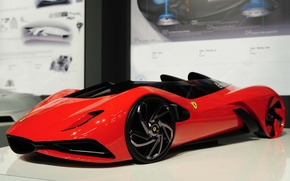 Picture model, Ferrari, Eternita, Ferrari World Design Contest
