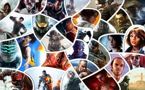Picture batman, Crysis, Halo, Call of Duty, Far Cry, stalker, bioshock, tomb raider, God of war, …