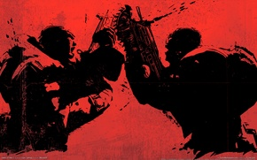 Picture gears of war2, tin, dueling saws