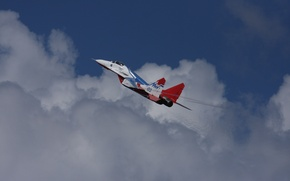 Wallpaper MiG-29, Strizhi Russia, The MiG-29