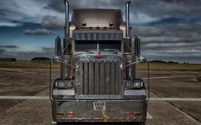 Picture truck, Peterbilt, Peterbilt