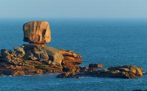 Picture sea, nature, stones, rocks