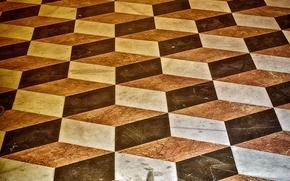 Picture squares, steps, texture