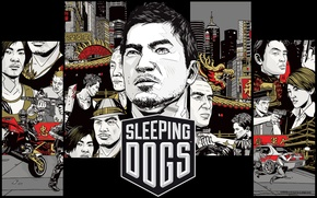 Picture Action, Square Enix, saver, games, Sleeping Dogs