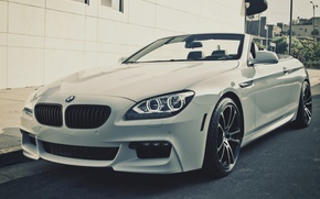 Picture BMW, white, before, roadster, 650i