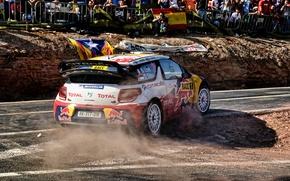 Picture People, Turn, Citroen, Citroen, Red Bull, DS3, WRC, Rally, Rally, Sebastien Loeb, Fans