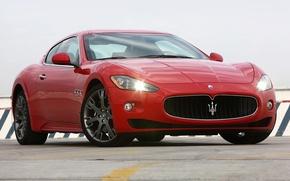 Picture Maserati, Red, Granturismo