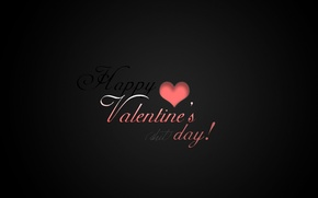 Picture labels, background, holiday, Wallpaper, mood, black, minimalism, Valentine's day, Valentine's day, Happy Valentines day