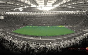 Picture wallpaper, sport, Italy, stadium, football, AS Roma, The Olympic Stadium