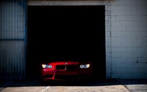 Picture machine, lights, bmw, BMW, garage, E92