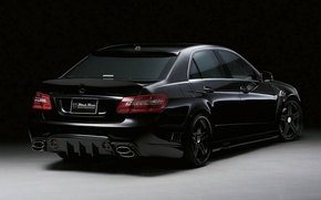 Picture mercedes-benz, e63, wald